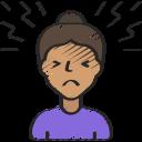 ache, coronavirus, head, headache, pain icon