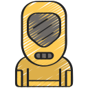 avatar, biohazard, coronavirus, hazmat, radiation, suit icon