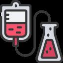 testing, blood, bloods, coronavirus, transfusion icon