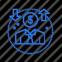 avatar, coin, dollar, money