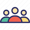 network, group, team, collaboration, organization structure icon