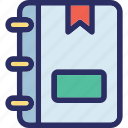address book, phone directory, phonebook, telephone book, telephone directory icon