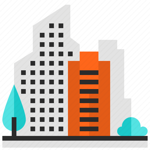 building, city, house, office icon