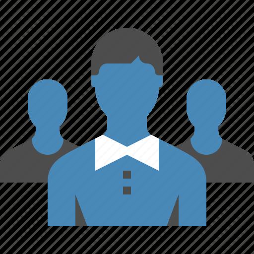 group, leader, leadership, people, person, team, teamwork icon
