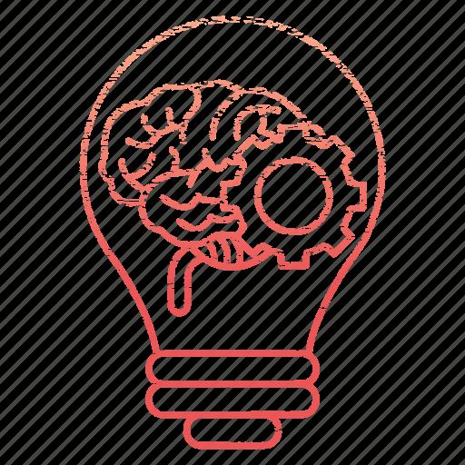 brainstorm, business, corporate, idea, lamp icon