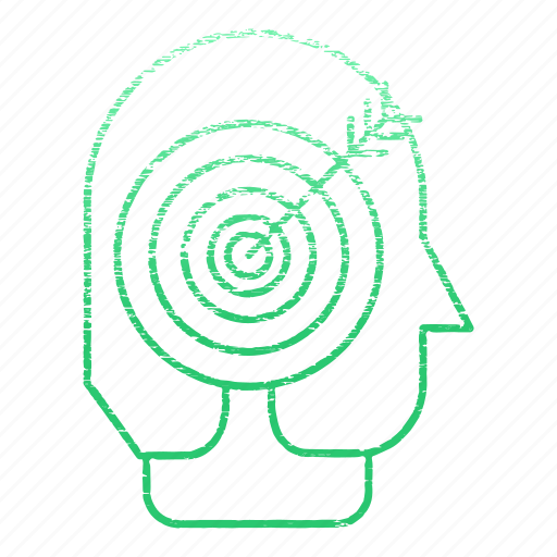 arrow, business, corporate, goal, head, headhunter, target icon