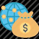 business, global, expand, finance, globe, money, world