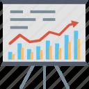 presentation, arrow, business, chart, graph, growth, statistics