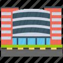 business center, corporate business, corporate headquarter, corporate office, head office icon