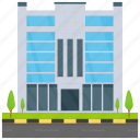corporate business, corporate headquarter, corporate office, executive office, head office icon