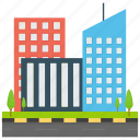 corporate business, corporate headquarter, corporate office, head office, largest company icon