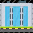 big company, business center, company headquarter, corporate business, corporate office icon