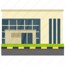 corporate business, corporate headquarter, corporate office, head office, office building icon