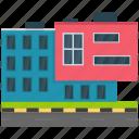 corporate business, corporate headquarter, corporate office, head office, office building icon