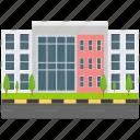 company architecture, corporate business, corporate company, corporate headquarter, corporate office icon