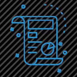 business, cv, document, management icon