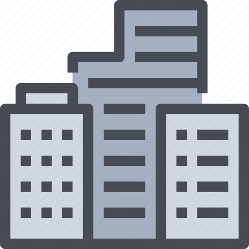 build, building, business, construction, office, tower icon