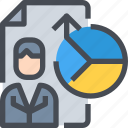 analysis, business, coperrate, data, report icon