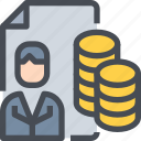 corperrate, data, database, report, storage icon