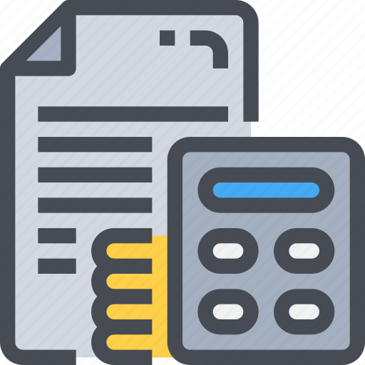 acoounting, banking, bugget, business, financial, marketing icon