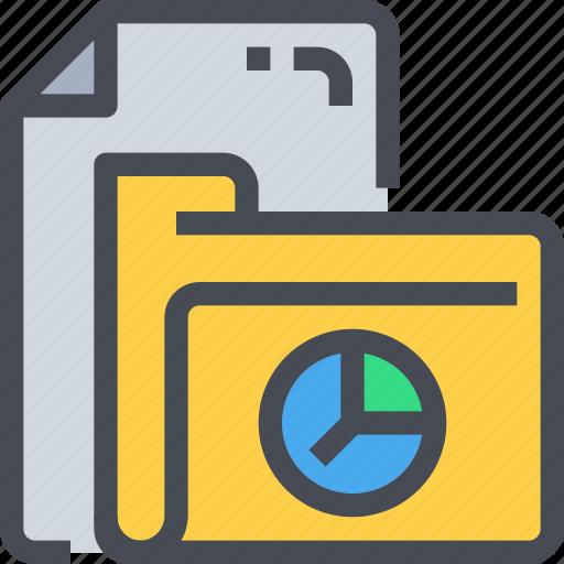 data, document, file, folder, paper, report icon