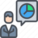 analyisi, business, graph, marketing, presentation, report icon