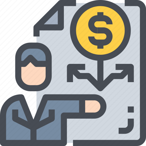 banking, business, financial, growth, investment, report icon