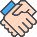 agreement, business, deal, handshake, partner, partnership icon