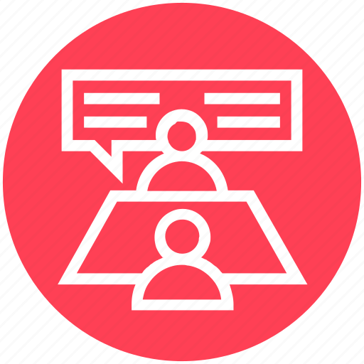 Business, communication, corporate, humans, management, talk, users icon - Download on Iconfinder