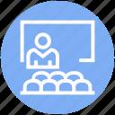 board, corporate, manager, office, speech, talk, user