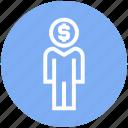 account, dollar, management, money, user