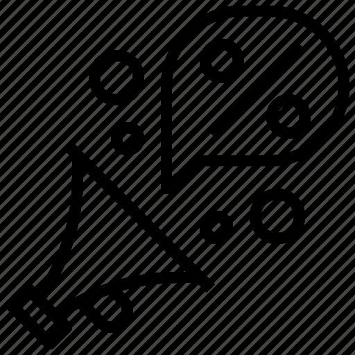 bullhorn, computer, marketing, megaphone, promotion, protest, shout icon