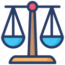 imbalance, injustice concept, justice weight scale, libra sign, measuring instrument, weight scale icon