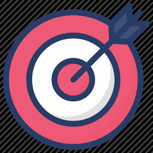 archery, dartboard, sports, target, target customers icon