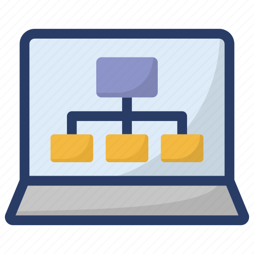 computer network, connected network, lan network, online network, online server network icon