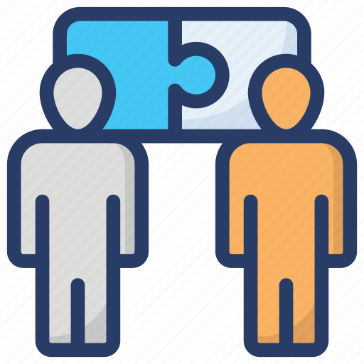 business solution, problem solving, puzzle solution, puzzle solving, teamwork puzzle icon