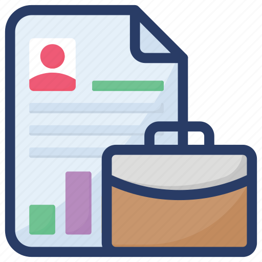 business document, business file, document, file, paper icon