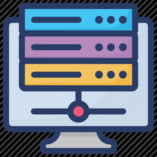 data server, database storage, online data server, online data storage, sql management icon