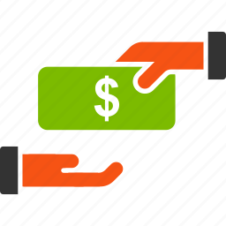 banknote, buy, money, payment, purchase, rebate, salary icon