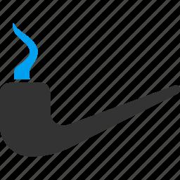 detective, pipe, poison, smoke, smoking, think, thinking icon