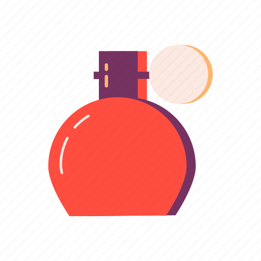 aroma, bottle, cosmetic, essence, fragrance, perfume, scent icon