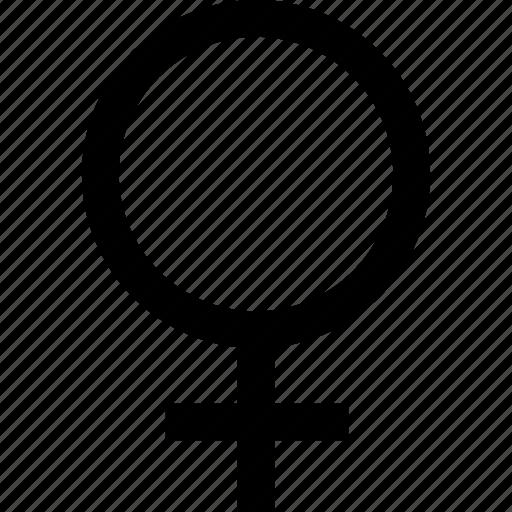 female, gender, girl, women icon