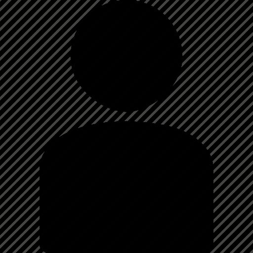 human, member, person, profile, user icon