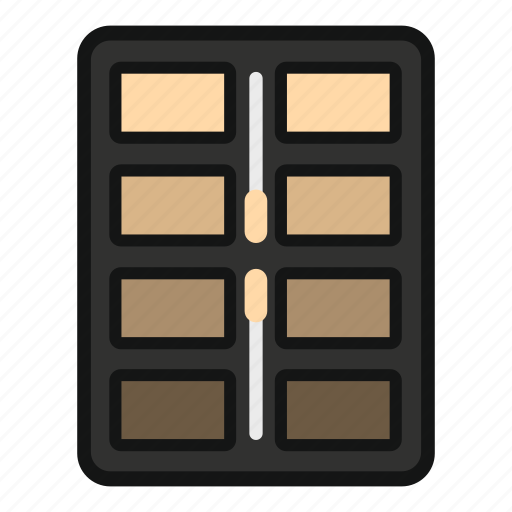 Beauty, eye, fashion, glamour, great, palette, shadow icon - Download on Iconfinder
