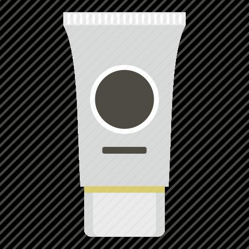 care, container, cosmetic, cream, lotion, plastic, tube icon