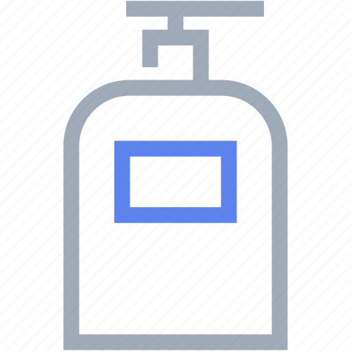 beauty, bottle, shampoo, soap icon
