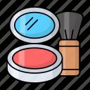 buffing brush, foundation, brush, makeup, cosmetic, box, bronzer