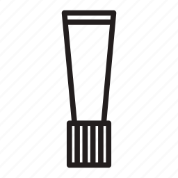 packaging, small, tube icon