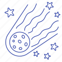 astronomy, meteorite, set, space, spaceship icon