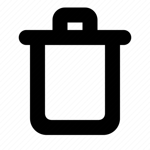 bin, box, garbage, recycle, trash icon